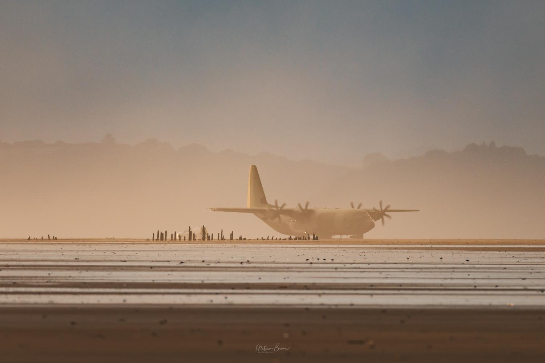 Pembrey Beach Landings by Mathew Browne