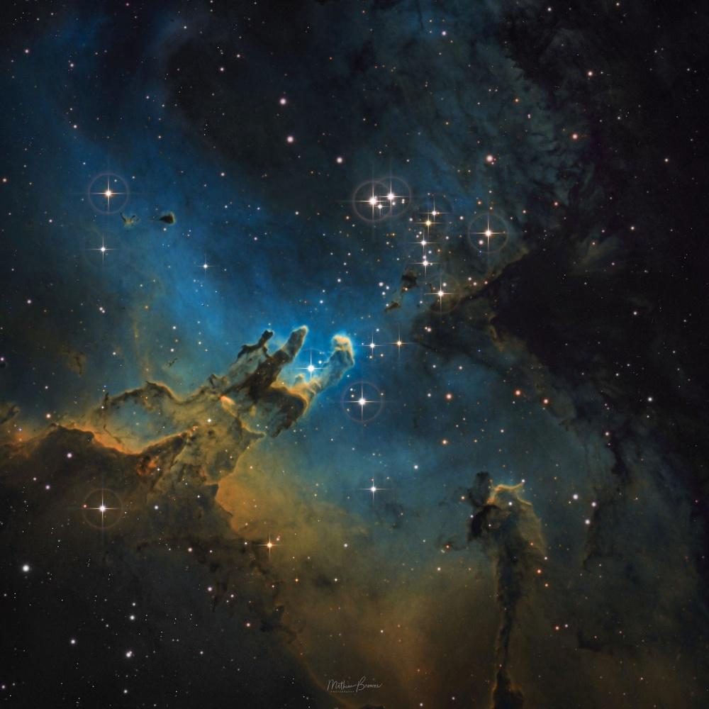 Pillars of Creation by Mathew Browne