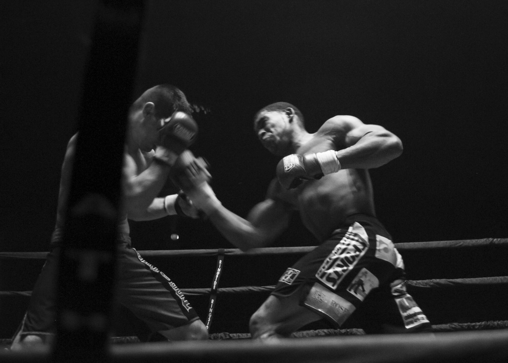 Serious-Uppercut by William Twitty