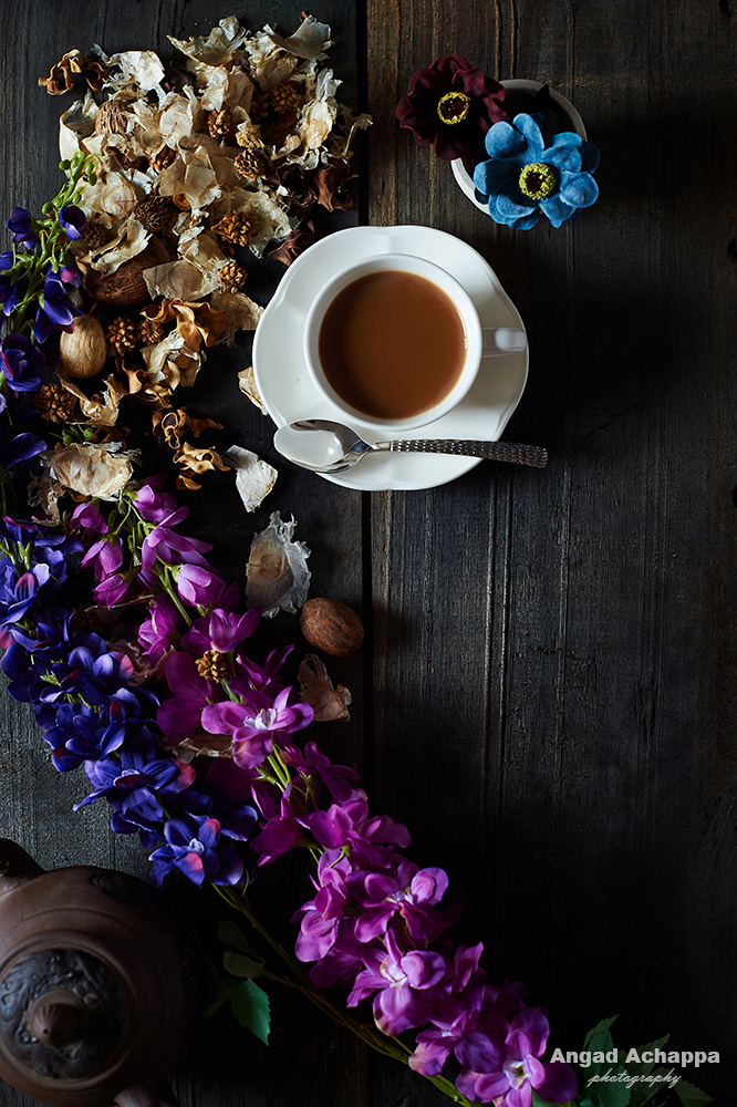 A cup of tea by Angad Achappa