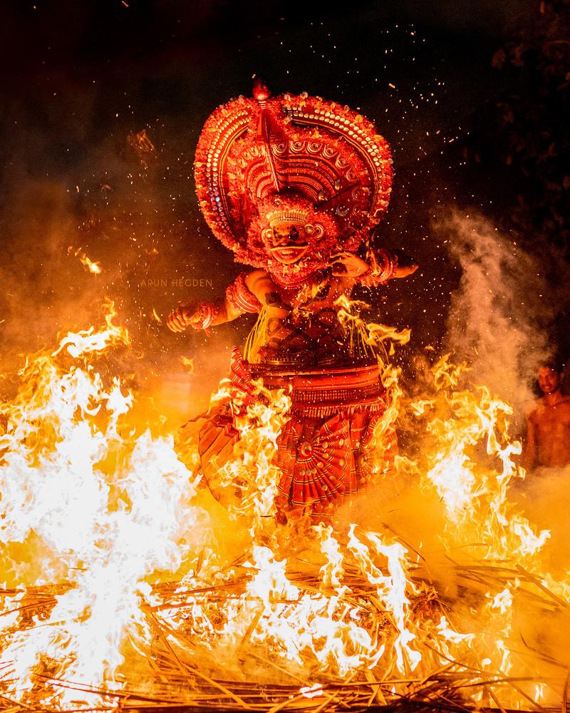 Theyyam by Arun Hegden