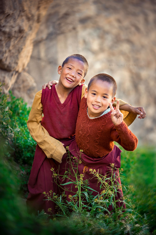 Best Friends by Arun Hegden