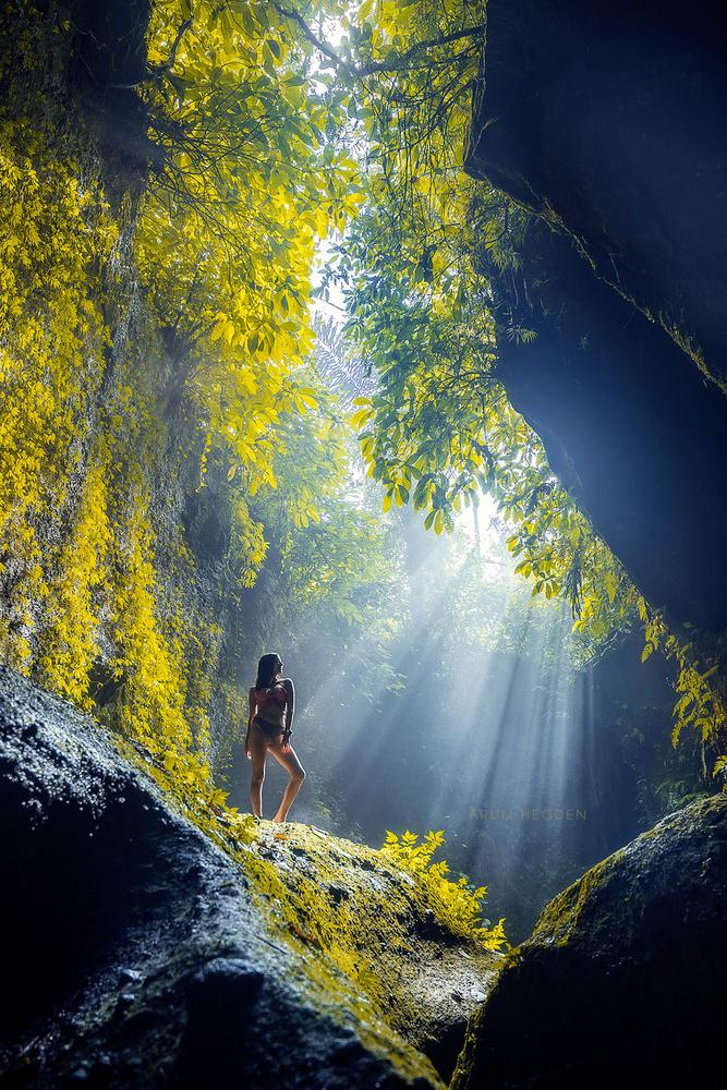 Mermaid & Light by Arun Hegden