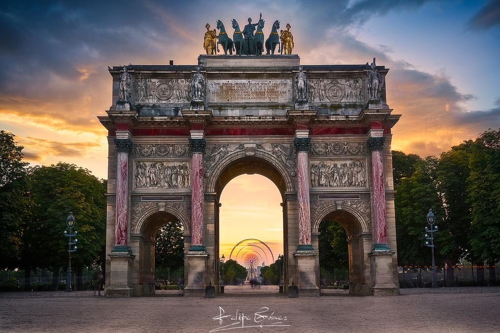 Le Triomphe du Carrousel. by Felipe Gómez