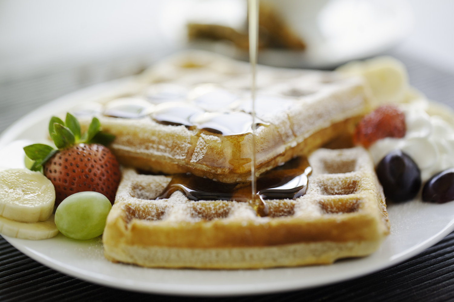 Waffle Breakfast by Dos Imagery