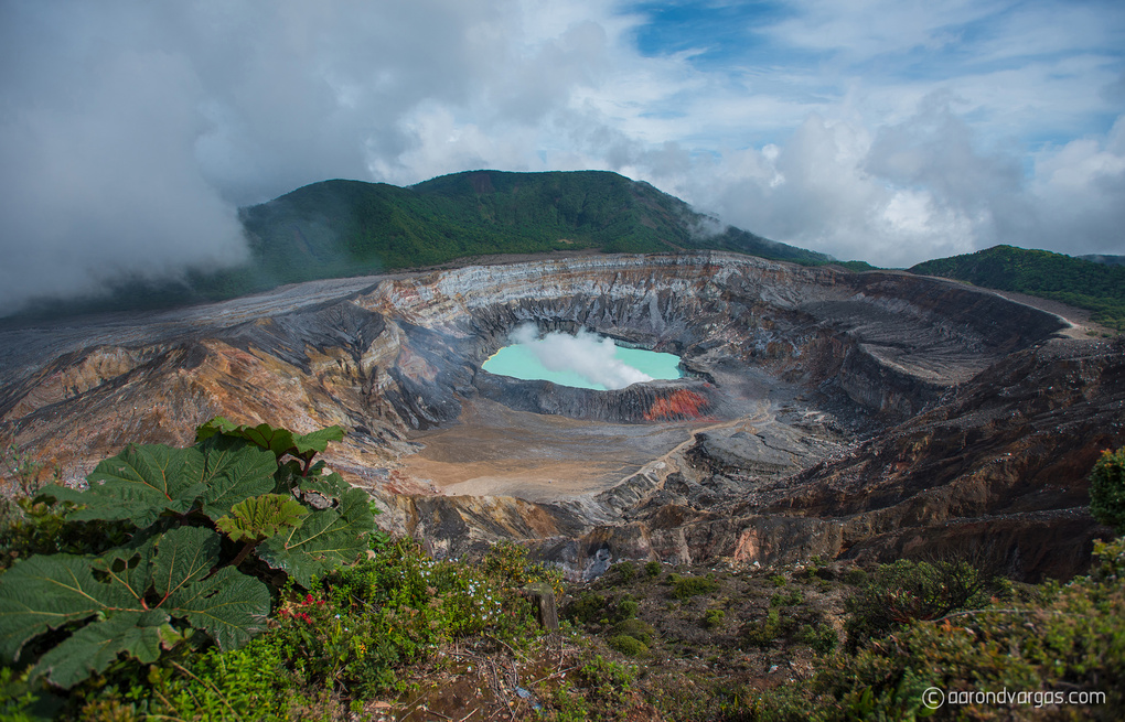 Poas Volcano National Park by Aaron D Vargas