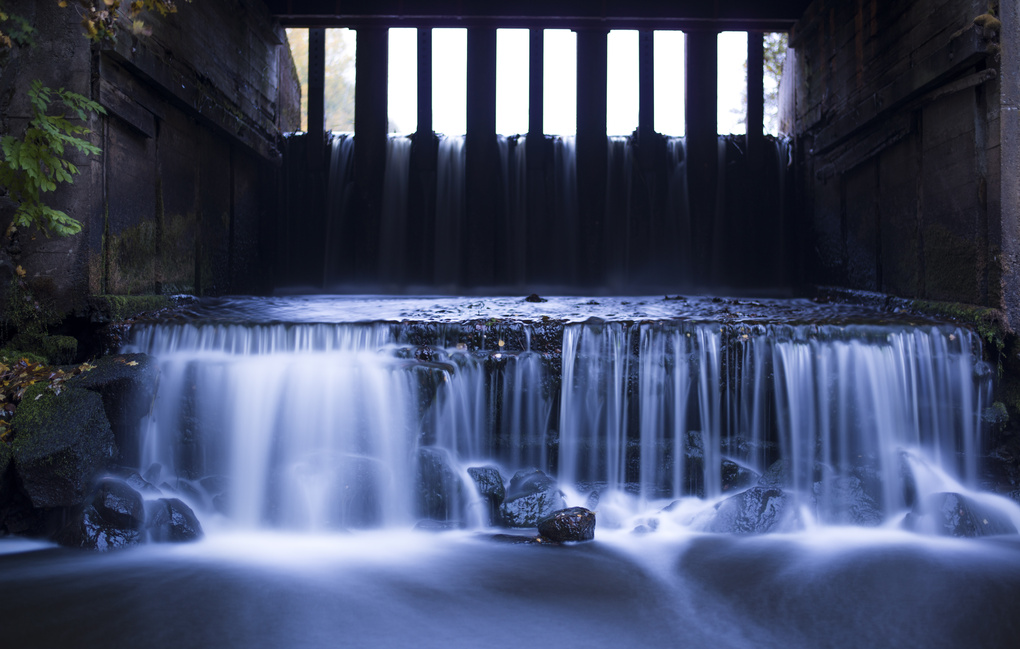 Silky water by Freddie Lyxell
