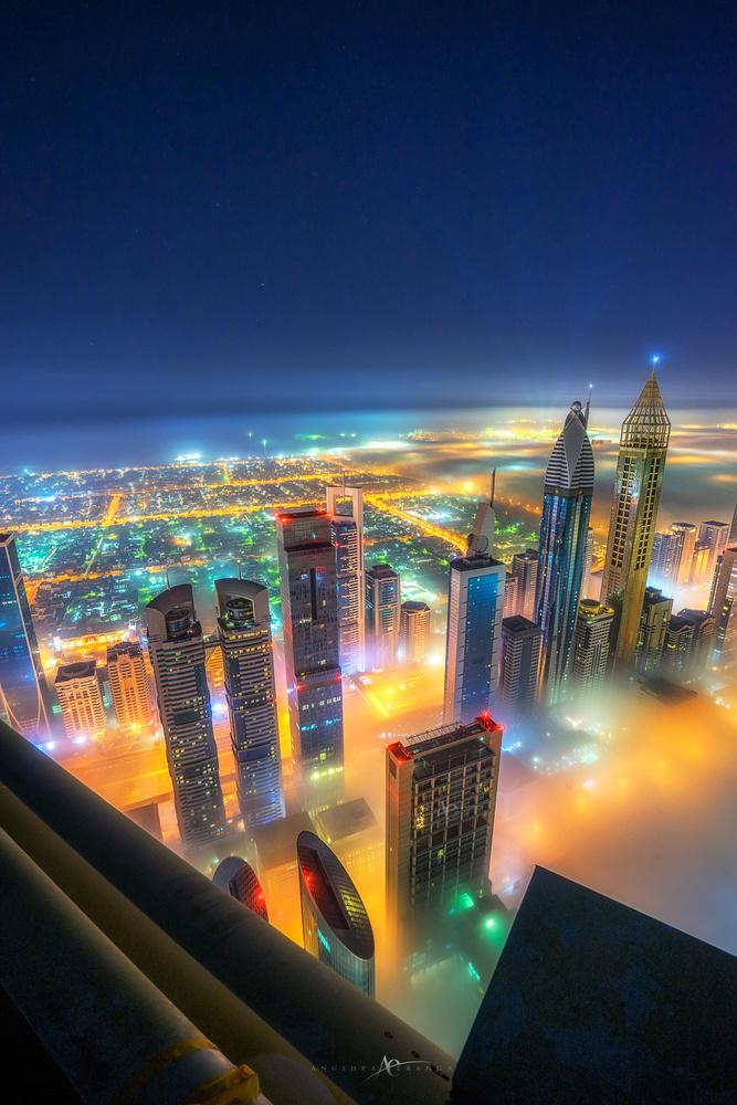 City of lights by Anushka Eranga