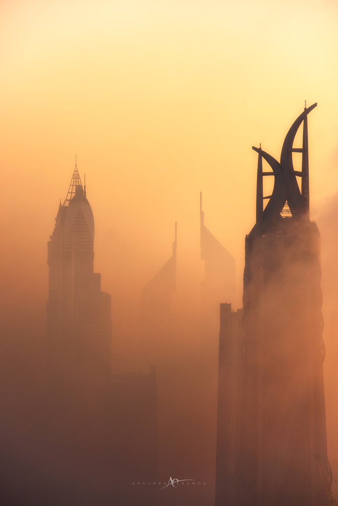Misty Dubai by Anushka Eranga