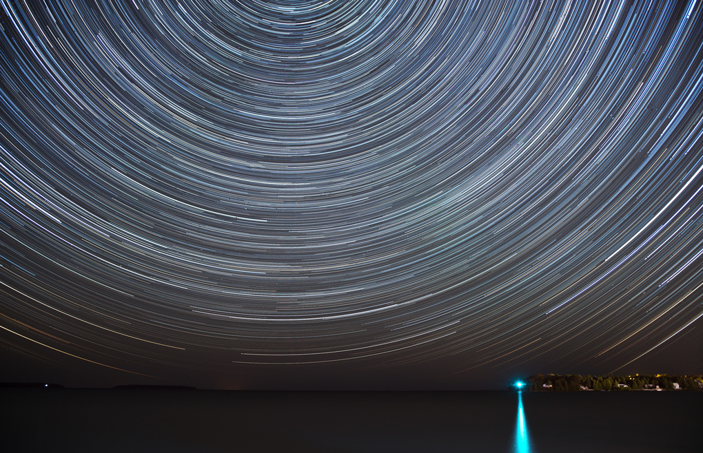 Bruce Peninsula Star Trails by Leo Huang