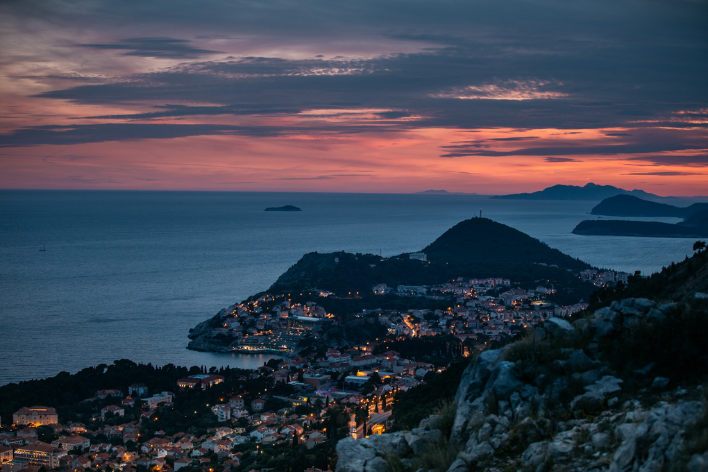 Shooting in Dubrovnik by Christin Necker