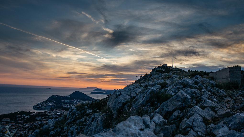 Capturing sunset by Christin Necker