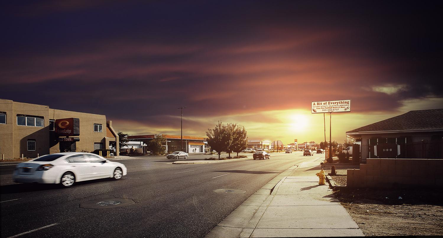 Albuquerque by Christin Necker