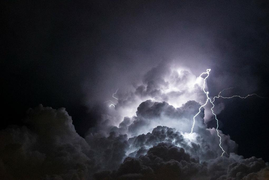 Thunderstorm by Aristeides Georg