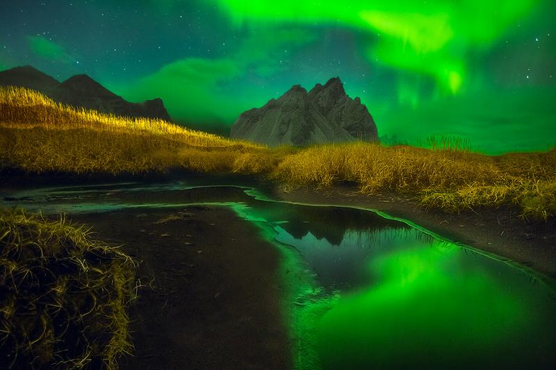 Aurora Over Iceland by Ken Koskela