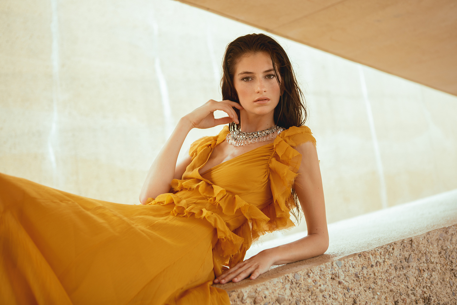 Orange Summer by Evely Duis
