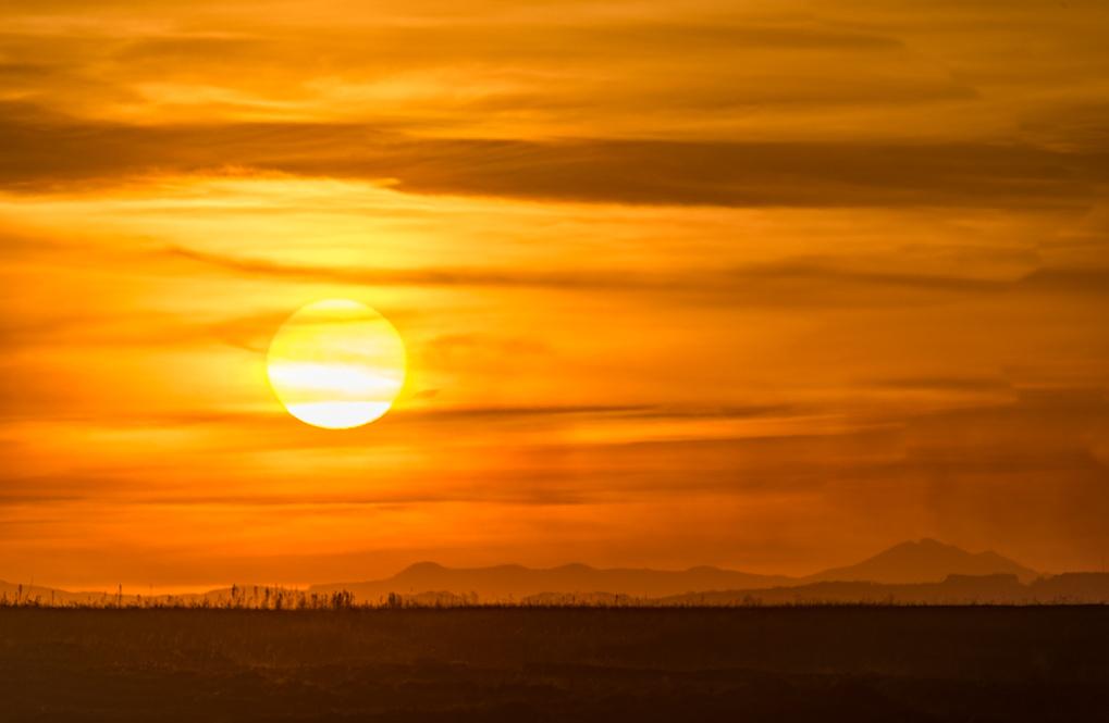 Oribi Sunset by Joe Houghton