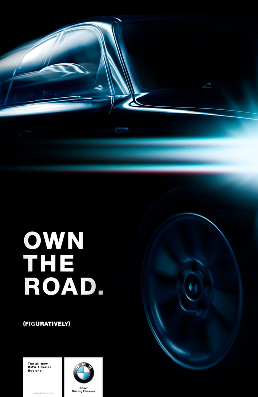 Own the road... Figuratively. by Roland Tomlinson
