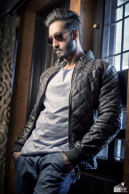 Man in the Leather Jacket by jaykishan maadam