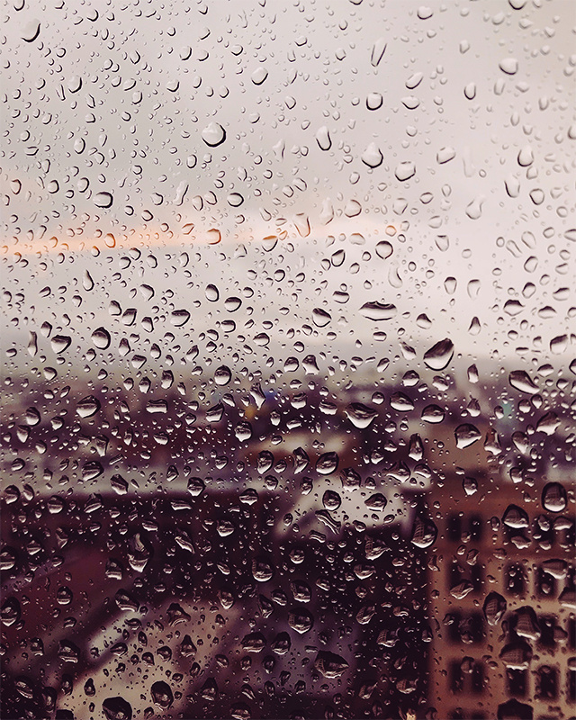 Rainy Day in LA by Jim Fisher