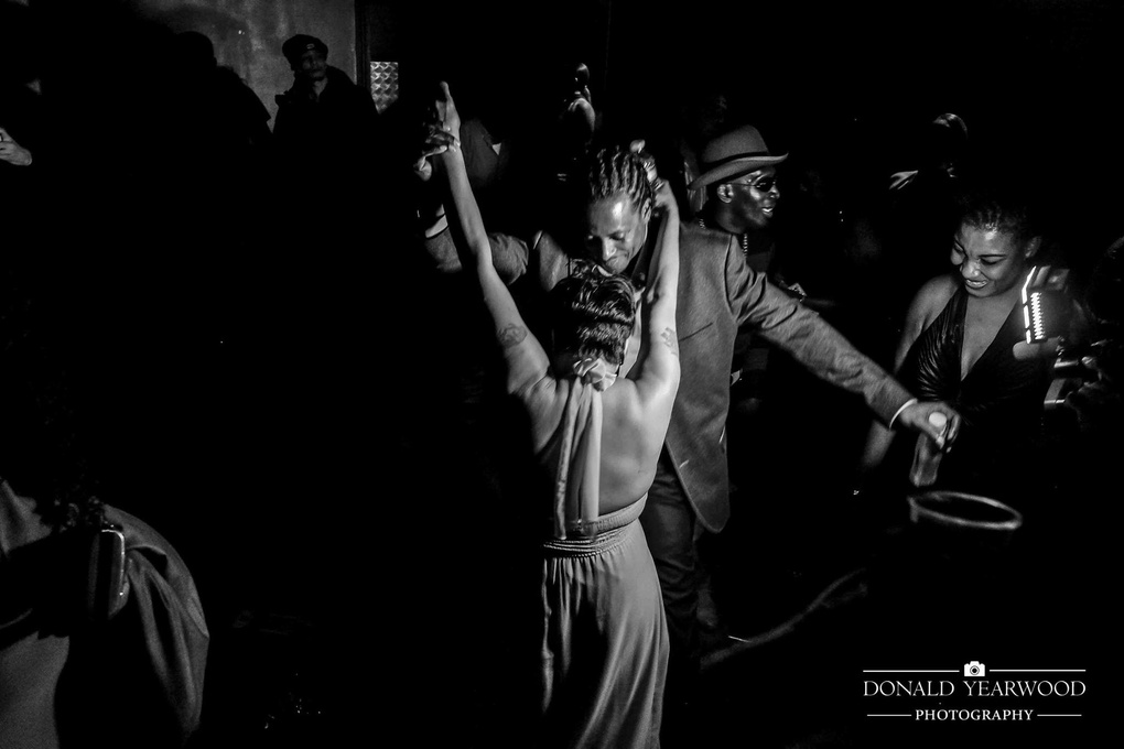 Dancing the night away by Donald Yearwood
