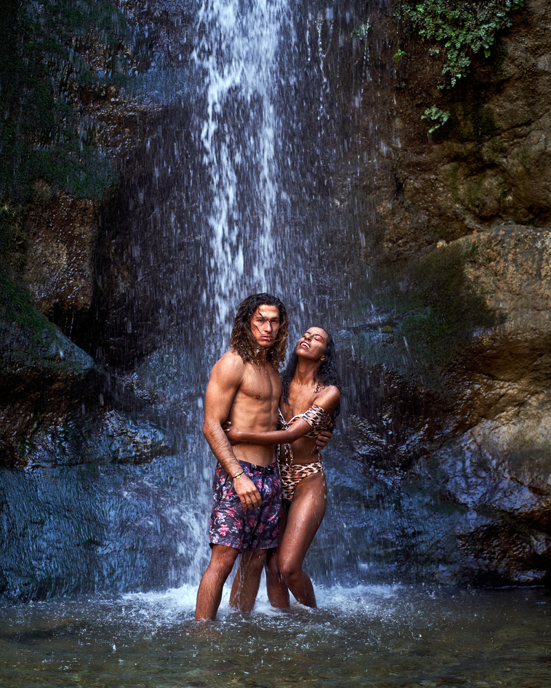 Paul and Meklit @ Eaton Canyon Falls by Black Z Eddie .