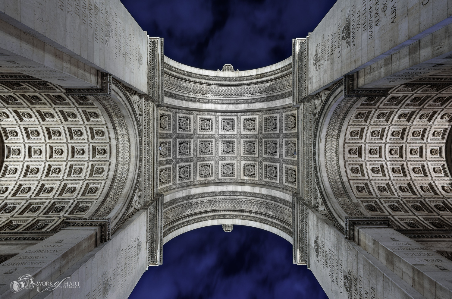 Arc de Triomphe by Jason Hart