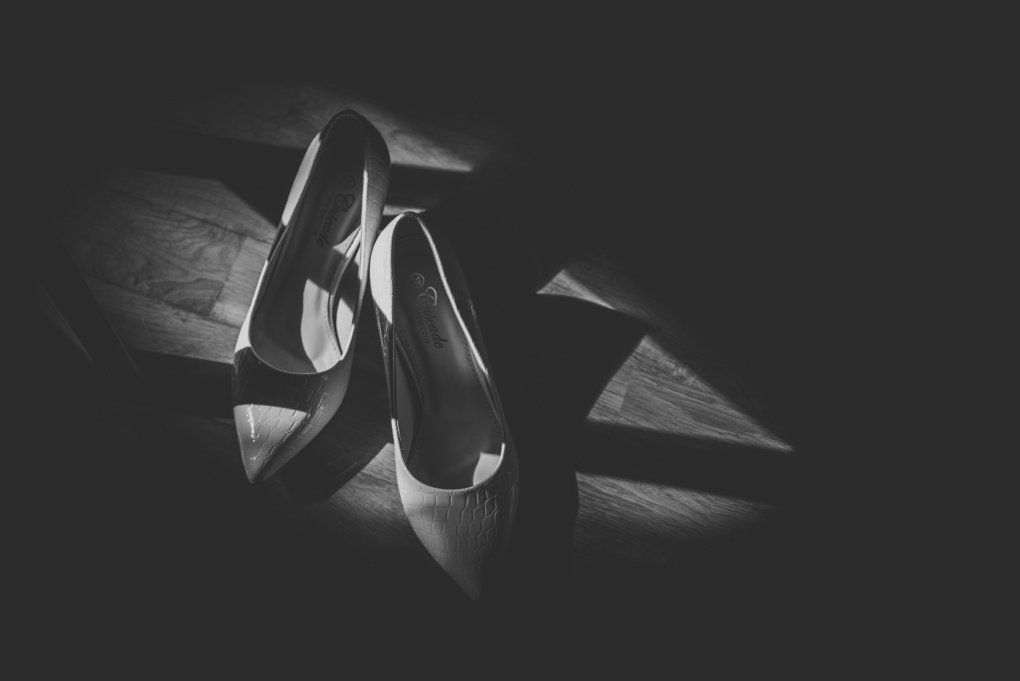 Shoes/shadows by Janis Petranis