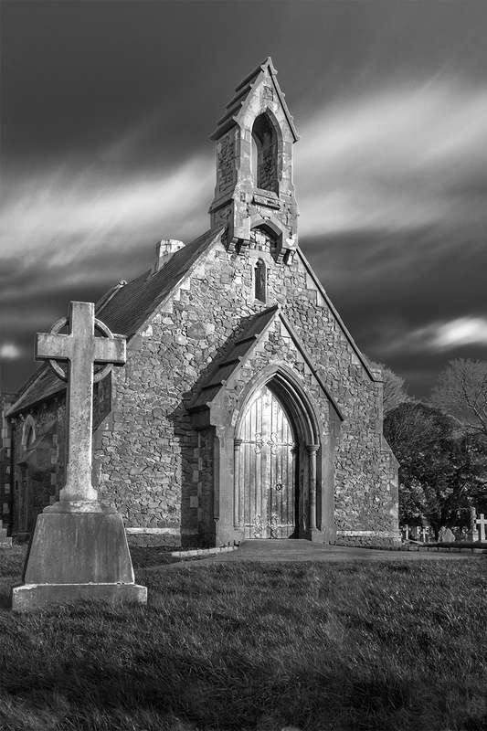Southsea graveyard by Paul Watt