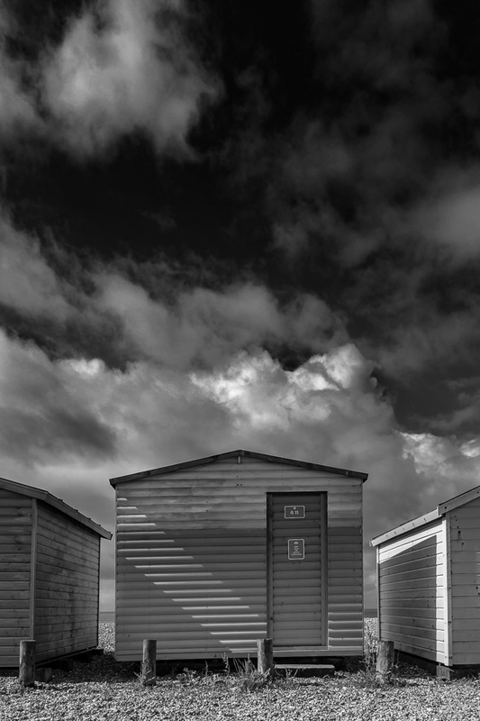 Beach hut by Paul Watt