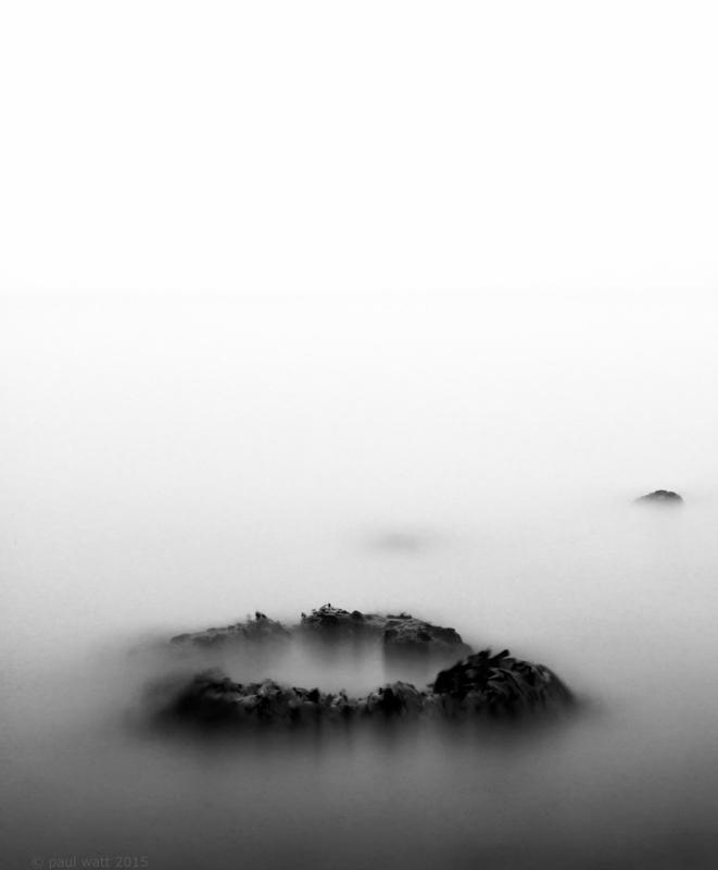 misty sea by Paul Watt
