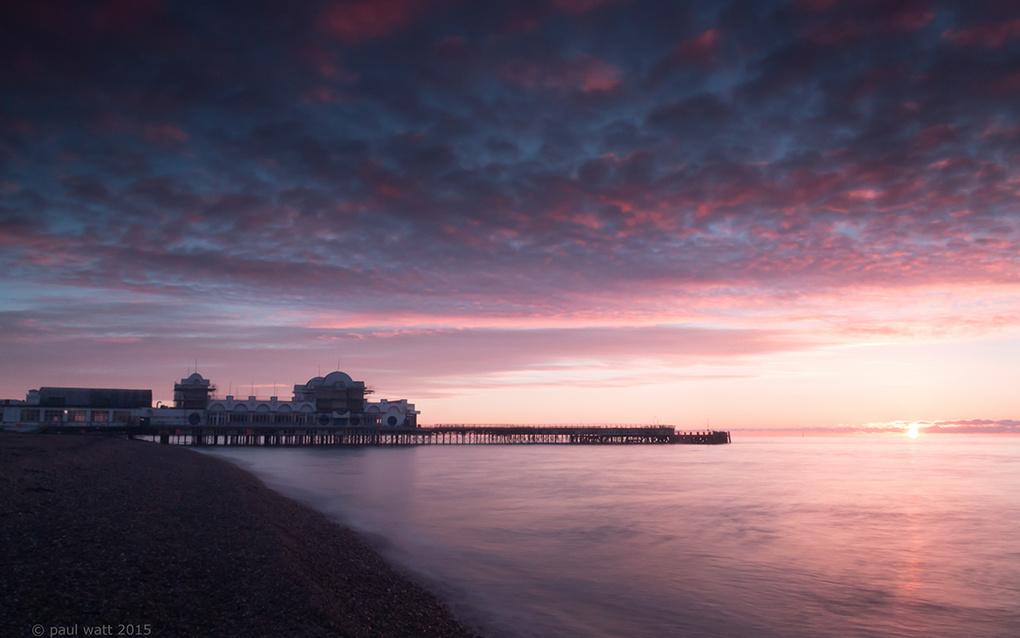 Morning Pier by Paul Watt