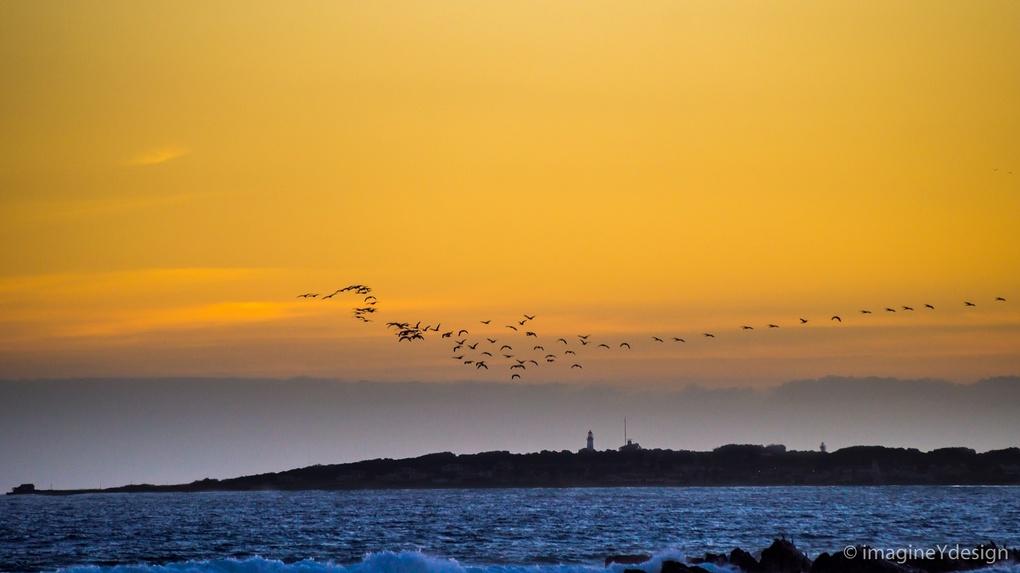 Robben Island Sun set by Yollanda De Carvalho