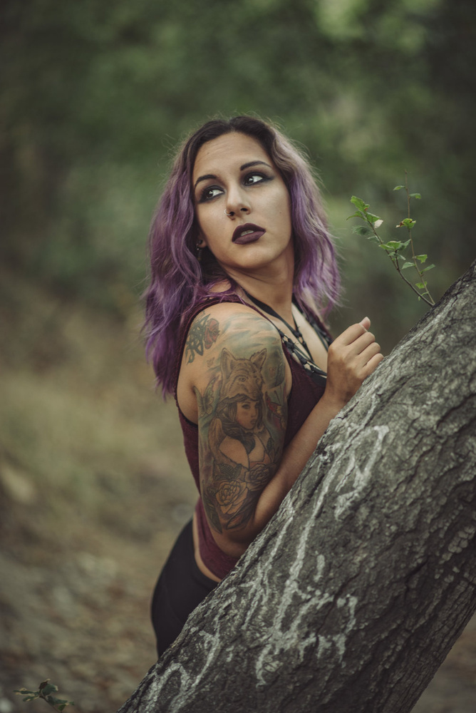 Forest Shoot by Jason Santiago