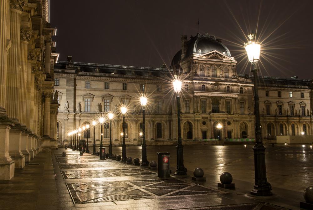 Rainy Night in Paris by Chris Anderson