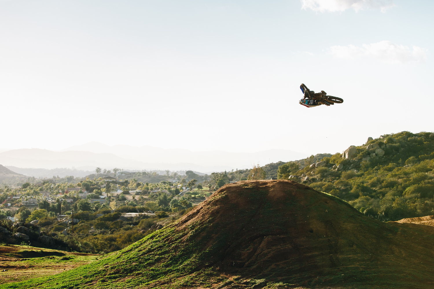 Afternoon Moto in San Diego by Luca Cometti
