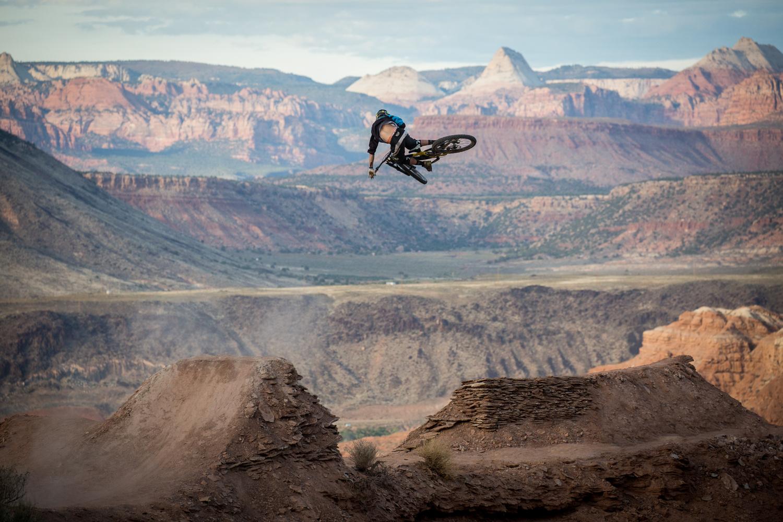 Kurt Sorge at Rampage 2015 by Luca Cometti