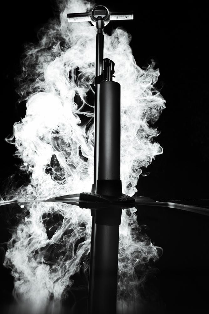 Foggy Pump by Luca Cometti