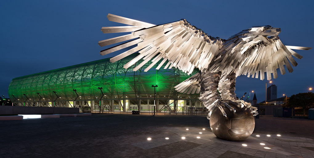 Stadium by Peter Molnar