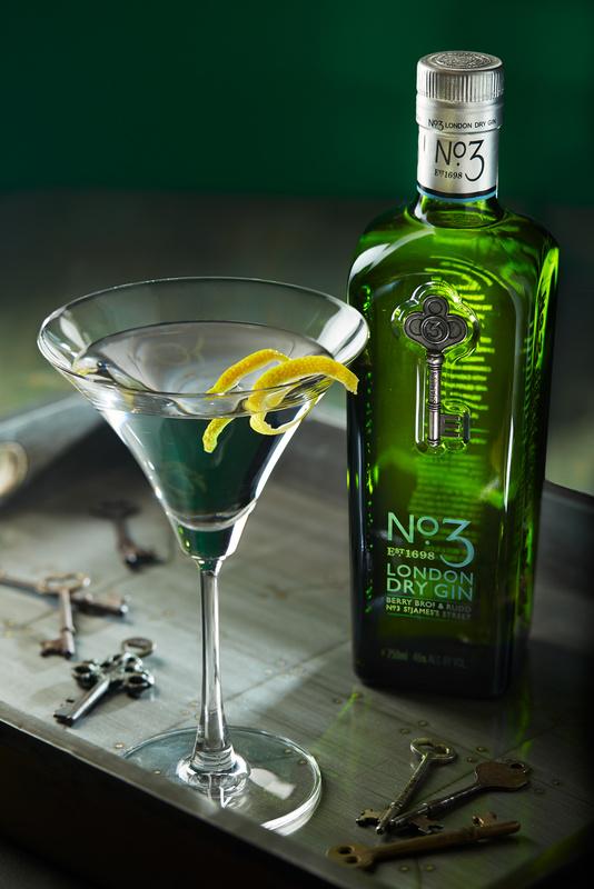 No. 3 Gin Martini by Edward Boe