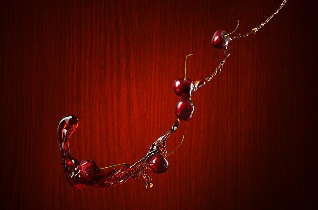 Black Cherry Soda by Edward Boe