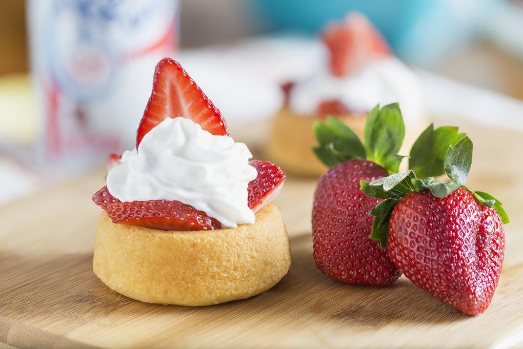 Strawberry Shortcake by Edward Boe