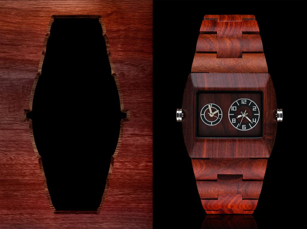 Meku Wooden Watch by Edward Boe
