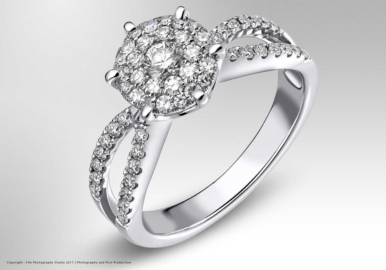 White gold ring by Marios Karampalis