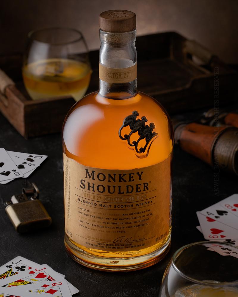 Monkey Shoulder by Benedict Eric Kwasi Baah