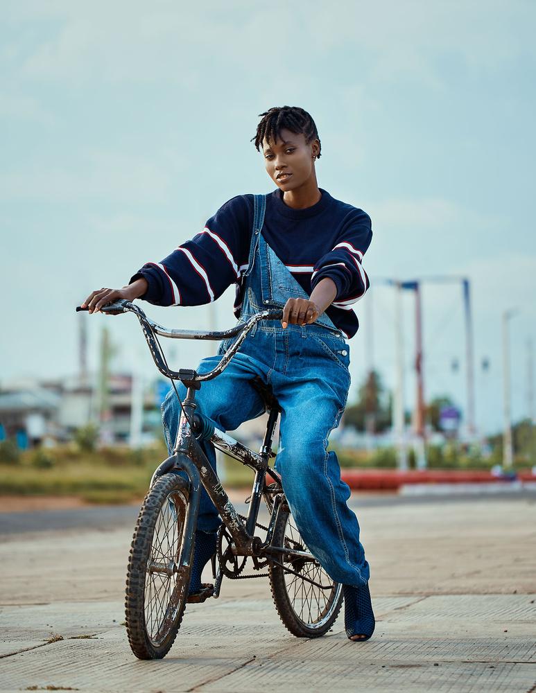 Biker by Benedict Eric