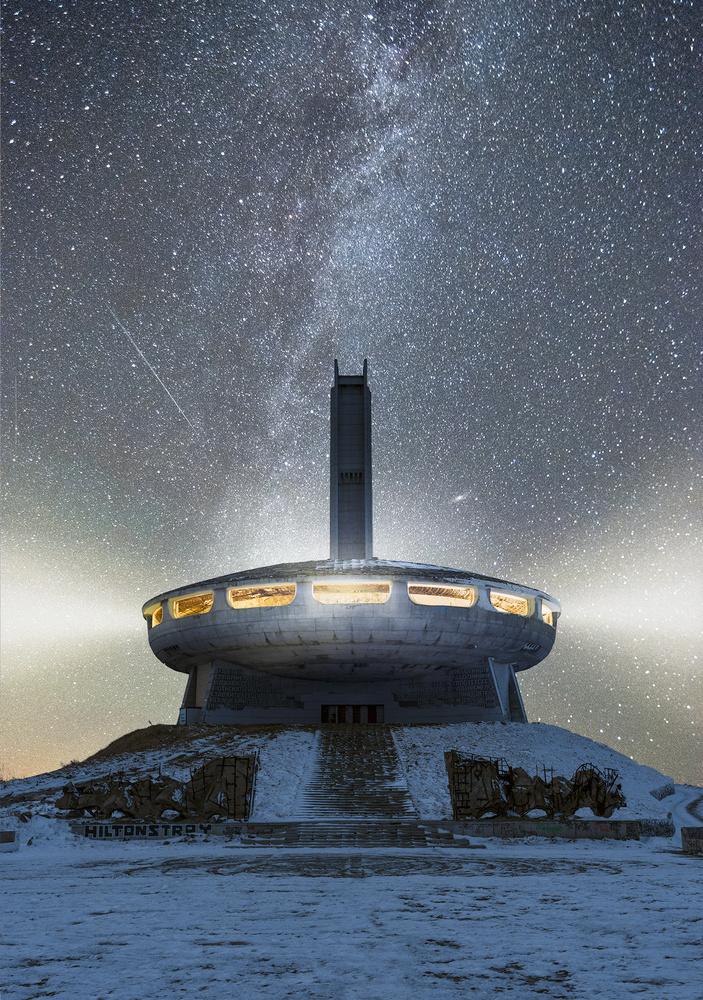 UFO in Bulgaria by John Paraskevas