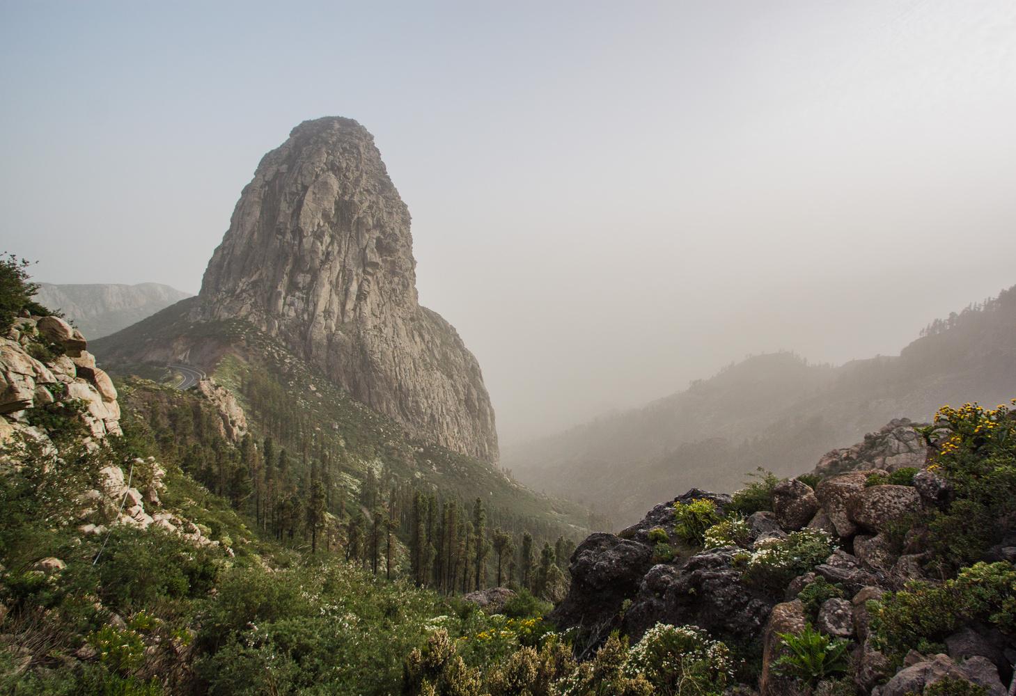 Misty Peak by Oksana Kachkan