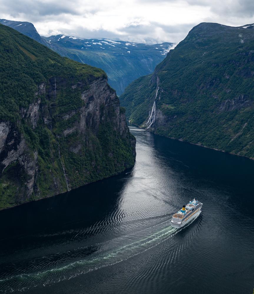 Geirangerfjord by SEAN SHEPHERD