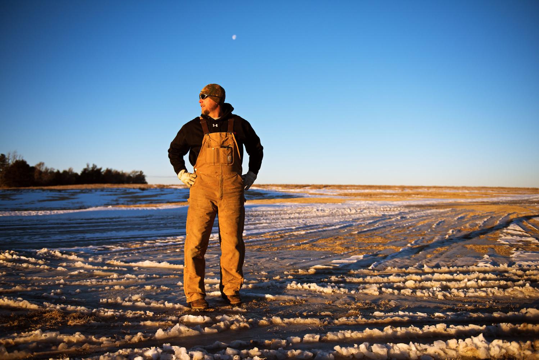 Mike Baker, sorghum farmer - Nebraska by Jonathan Castner